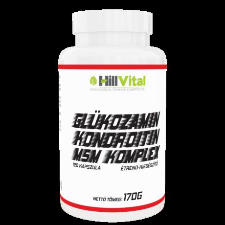 HillVital Glükózamin kondroitin MSM komplex